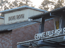 Granite Falls High School building