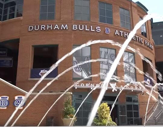 Durham Bulls Athletic Park building